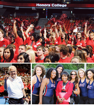 UIC Convocation and Chancellor's New Student Welcome Block Party