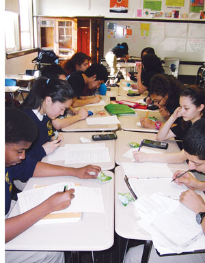 UIC College Prep Mathletes studied twice a week.